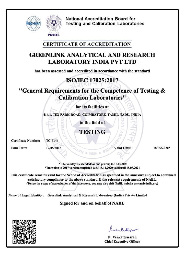 greenlink nabl lab